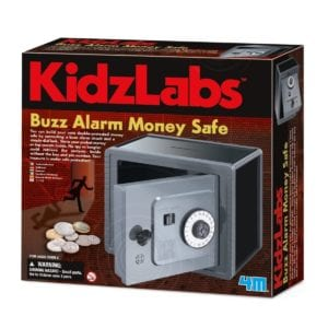 Buzz Alarm Money Safe Kidz Labs