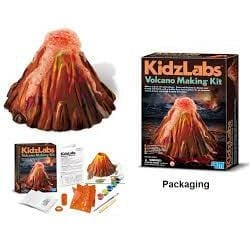 volcano making kit Kidz Labs