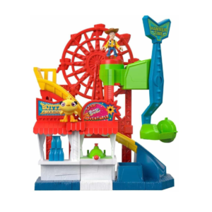 parque de diversiones toy story imaginext
