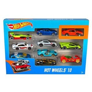 PAQUETE DE 10 AUTOS HOT WHEELS