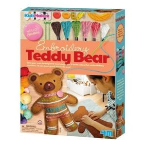 EMBROIDERY TEDDY BEAR 4M