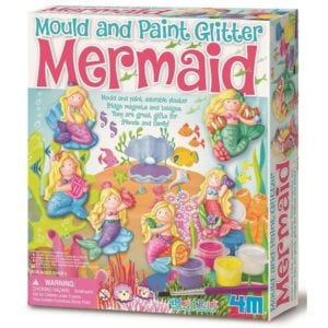 mould and paint glitter mermaid 4m